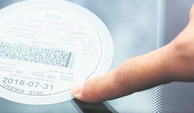 Car license renewal penalty fee's
