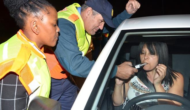new driving and drinking limits South Africa
